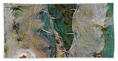 Needles In The Desert Beach Sheet by Kathie Chicoine