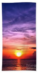 Negril Sunset Beach Towel
