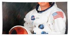 Neil Armstrong Beach Towel
