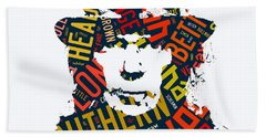 Neil Young Southern Man Beach Towel