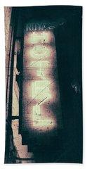 Neon Coffin Beach Sheet