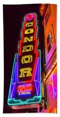 Neon Condor San Francisco Beach Towel