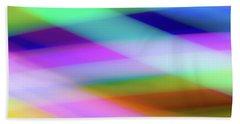 Neon Crossing Beach Sheet