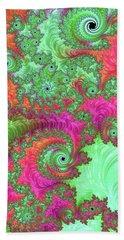 Neon Dream Beach Sheet