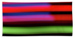 Neon Stripe Beach Sheet