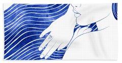 Nereeid Xxv Beach Towel