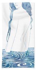 Nereid L Beach Towel