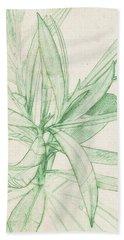 Nerium Oleander Beach Sheet