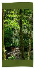 Nestucca River 3039 12x18 Beach Towel