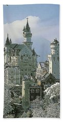 Neuschwanstein  Beach Towel