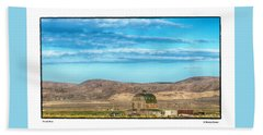 Nevada Barn Beach Towel