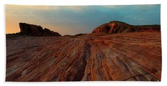 Nevada Sandstone Sunset Beach Towel