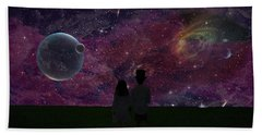 Never Alone Part 2 Beach Towel