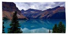 Bow Lake, Banff, Ab  Beach Towel