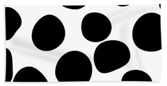 Never Change Your Spots Beach Towel by Uma Gokhale
