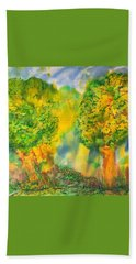 Beach Towel featuring the painting Never Give Up On Your Dreams by Susan D Moody