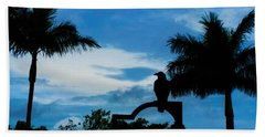 Nevermore In The Tropics Beach Towel