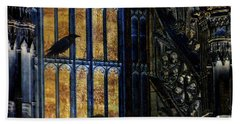 Nevermore Beach Towel by LemonArt Photography