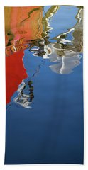 Beach Sheet featuring the photograph New Bedford Waterfront Xxviii Color by David Gordon