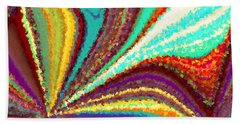 New Beginning Beach Towel by Tim Allen