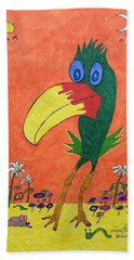 New Bird On The Block Beach Towel
