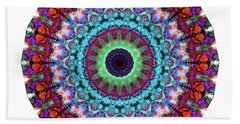 New Dawn Mandala Art - Sharon Cummings Beach Towel