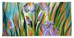New Irises Beach Sheet