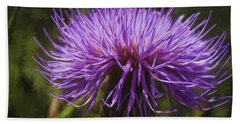 New Mexican Thistle Beach Towel