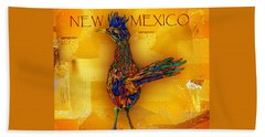 New Mexico Roadrunner Beach Towel