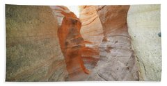 Beach Sheet featuring the photograph New Mexico Tent Rocks Canyon Mountain Landscape by Andrea Hazel Ihlefeld