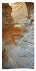 Beach Sheet featuring the photograph New Mexico Tent Rocks Desert Canyon Landscape by Andrea Hazel Ihlefeld