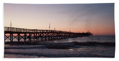 New Moon Pier Beach Towel