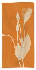 New Openings In Apricot Beach Towel