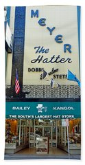 New Orleans Hatter Beach Towel