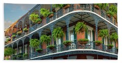 New Orleans House Beach Towel