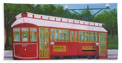 New Orleans Streetcar Beach Sheet