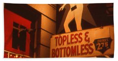 New Orleans Topless Bottomless Sexy Beach Towel