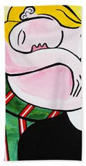 New Picasso By Nora Out Cold Beach Towel
