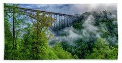 New River Gorge Bridge Morning  Beach Sheet