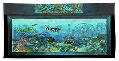 New York Aquarium Towel Version Beach Towel