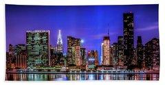New York City Shine Beach Sheet