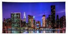 New York City Shine Beach Towel