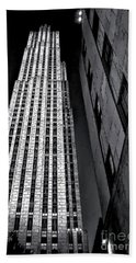 New York City Sights - Skyscraper Beach Towel