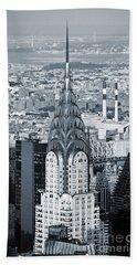 New York City - Usa - Chrysler Building Beach Sheet