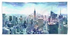 New York Fairytales Beach Towel