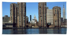 New York Midtown Appartments - Architecture Beach Towel