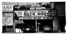 Beach Towel featuring the photograph New York Street Photography 69 by Frank Romeo