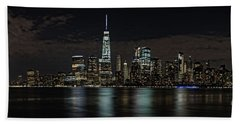 New York View Beach Towel by Nicki McManus