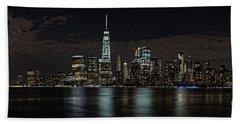 New York View Beach Sheet by Nicki McManus