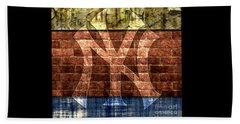 New York Yankees Brick 2 Beach Towel